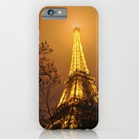 iPhone & iPod Case featuring Eiffel Tower by Little Miss Joey
