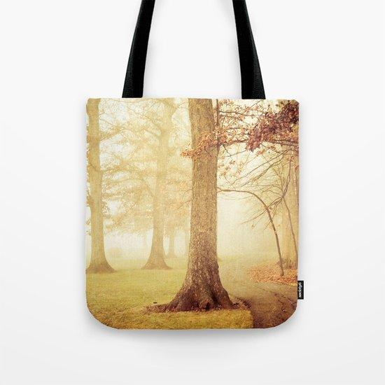 I Heard Whispering in the Woods Tote Bag