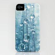 Blue Grass Drops II iPhone (4, 4s) Slim Case