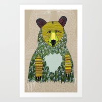 Hello, Bear Art Print
