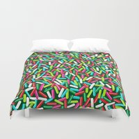 Encrusted With Sprinkles (Holiday Edition) Duvet Cover