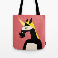 Masked Unicorn V04 Tote Bag