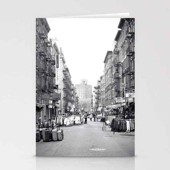 Lower East Side Market Stationery Card