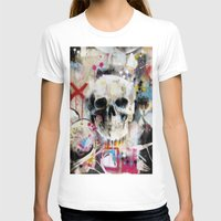 skull T-shirts featuring Skull by FAMOUS WHEN DEAD
