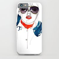 iPhone & iPod Case featuring Kate  by Jessica Tobin