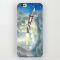 The Remarkable Rocket iPhone & iPod Skin