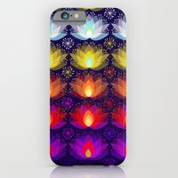 Variations on a Lotus I - Sparkle Brightly iPhone 6 Slim Case