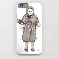 happy birthday iPhone & iPod Cases featuring Happy Birthday by Ursula Rodgers
