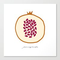 POMEGRANATE Canvas Print