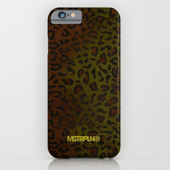 Modern Woodgrain Camouflage / Zaire KDP Print iPhone & iPod Case