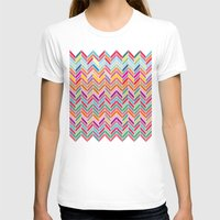 chevron T-shirts featuring Chevron by Aftab