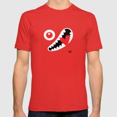 EYE LOVE Mens Fitted Tee Red SMALL