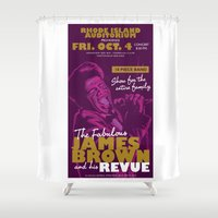 James Brown Shower Curtain