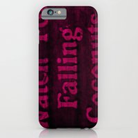 iPhone & iPod Case featuring Falling coconuts by Soulmaytz