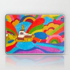 Yellow Submarine Laptop & iPad Skin