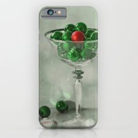 iPhone & iPod Case featuring the red bauble by Lizzy Pe