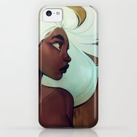 iPhone 5c Cases featuring glow in the dark by loish