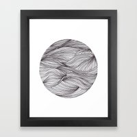 Círculo Framed Art Print