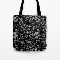 Black spring Tote Bag