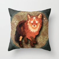 Star Phox Throw Pillow