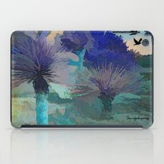 TheDesert blue -By Sherri Of Palm Springs iPad Case