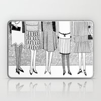 the sunny side of the street Laptop & iPad Skin
