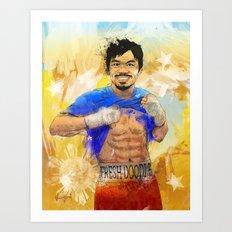 Manny Pacquiao - Pound 4… Art Print