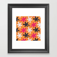 Throw it against the wall and see what sticks Framed Art Print
