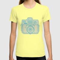 I Still Shoot Film Holga… Womens Fitted Tee Lemon SMALL