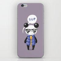 Sup Panda iPhone & iPod Skin