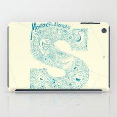 Monster Doodle - light version iPad Case