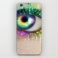Rainbow Eye iPhone & iPod Skin