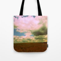 And The Thunder Rolls Tote Bag