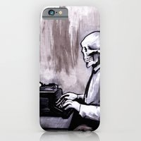 iPhone & iPod Case featuring One Of Those On Whom Nothing Is Lost by Zombie Rust