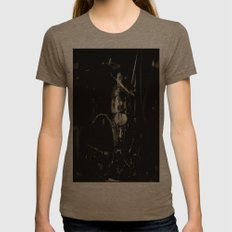 Let's  Rock Womens Fitted Tee Tri-Coffee SMALL