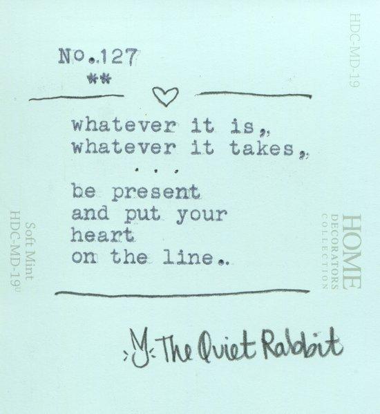 no.127 - whatever it is Art Print