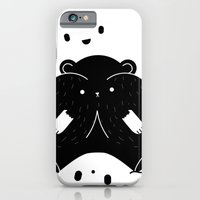iPhone & iPod Case featuring IMMIGRANT BEARS by WILD and BEAR