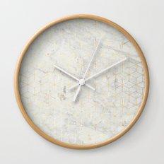 gOld 3D Wall Clock