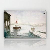 Fishing in Istanbul Laptop & iPad Skin