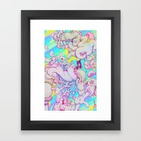 Music Response Framed Art Print