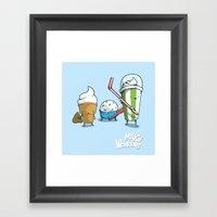Milky Warriors Framed Art Print
