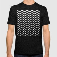 Zag Mens Fitted Tee Tri-Black SMALL