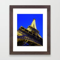 Eiffell Tower Framed Art Print