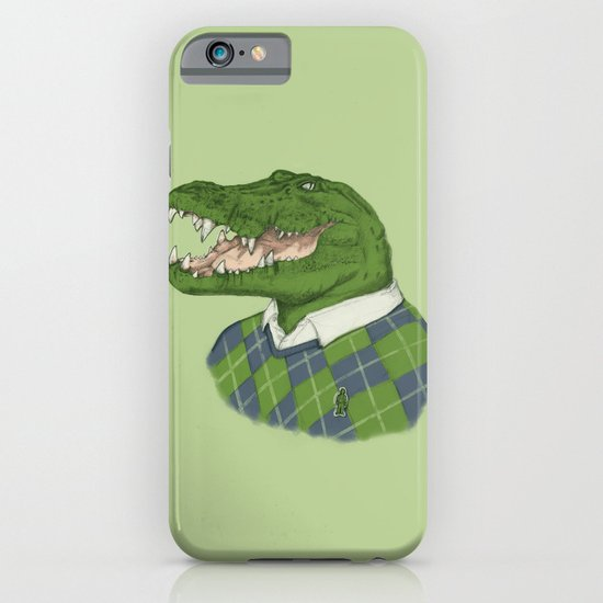 Argyle Crocodile iPhone & iPod Case