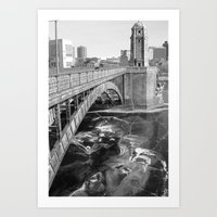 Longfellow Iced In Art Print