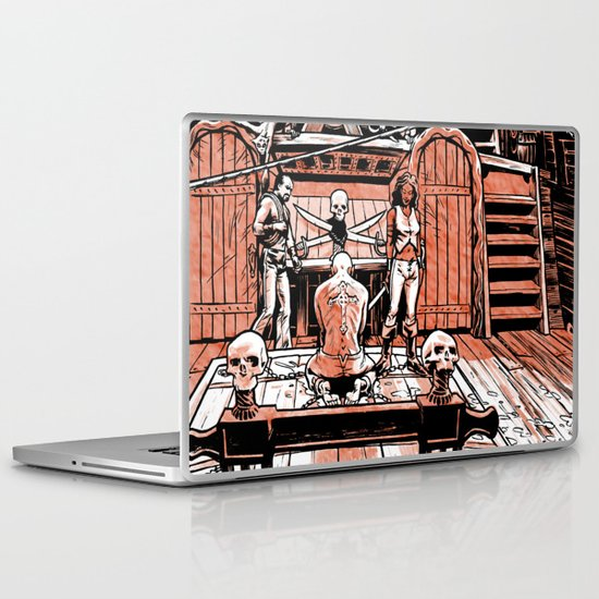 Sea of Red: Judgement Laptop & iPad Skin