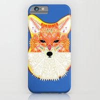 Fox in Blue iPhone 6 Slim Case