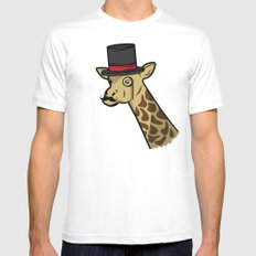 Like A Siraffe SMALL Mens Fitted Tee White