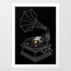 Star Track Art Print