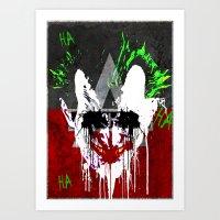 Arkham City Joker!  Art Print